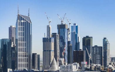 Commercial Boom Driving Cranes into CBD Skyline