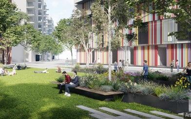 Watpac Preferred Builder for Fitzroy Gasworks Vertical School