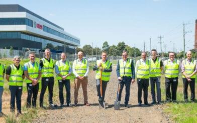 Johns Lyng Begins Construction on Bosch Plant
