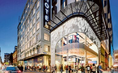 Hickory Preferred Builder for Bourke Street Walk Arcade