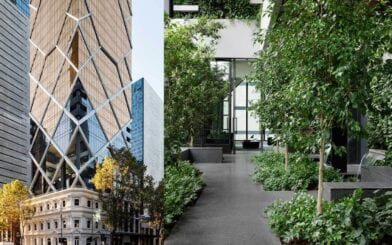 Beulah & Multiplex Unveil Paragon – Australia's First Indoor Forest and Vertical Solar Panels