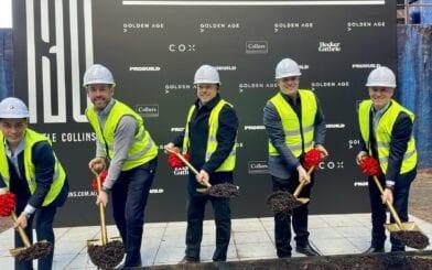 Construction begins on Golden Age's $190m Boutique Melbourne Office Tower